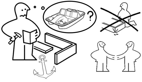 IKEA Anleitung Tretboot