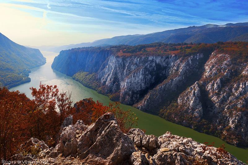 Eisernes Tor Durchbruchstal Donau