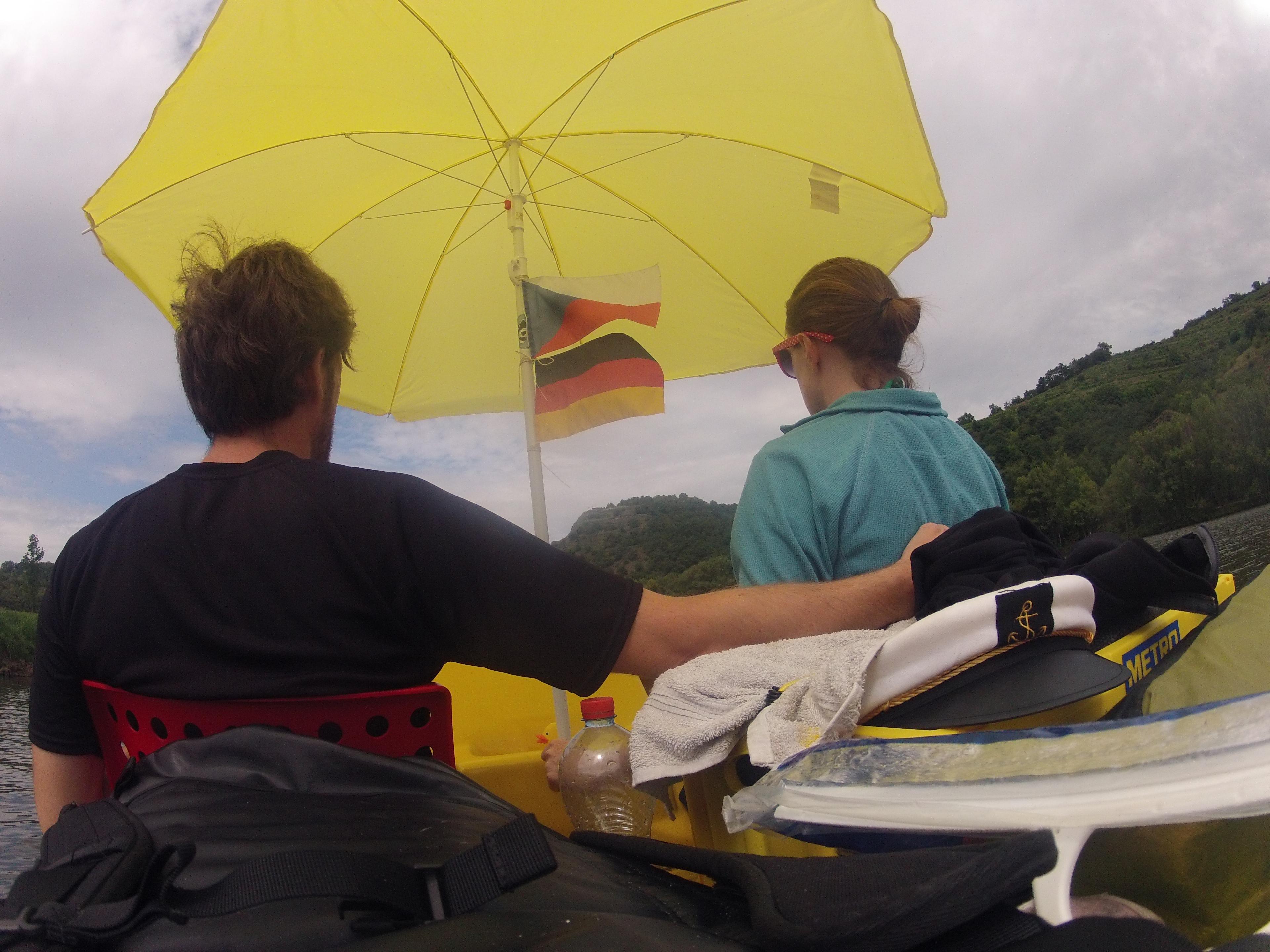 Ein Tretboot-Abenteuer - Teil 1