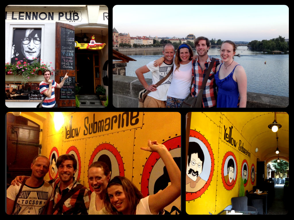 Yellow submarine bar prague