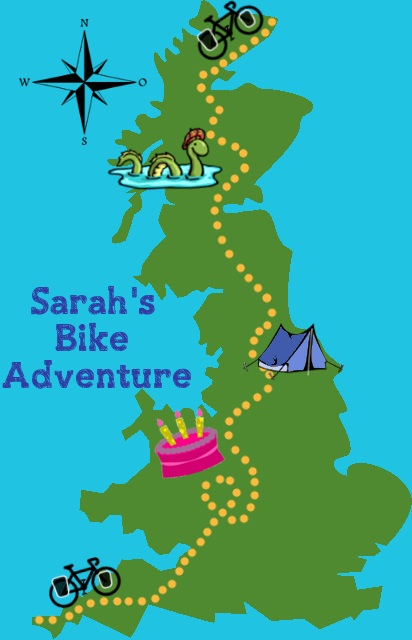 map england cycling route adventure