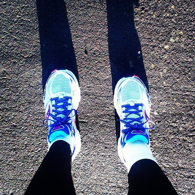 new trainers running