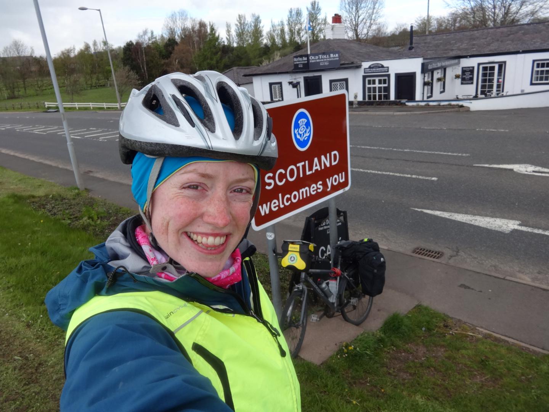 Schottland heißt Dich auf Deinem Fahrrad willkommen