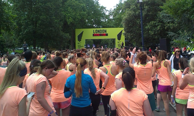Nike Women's 10km run London