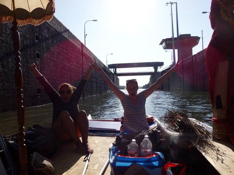 Schleuse Floß Donau