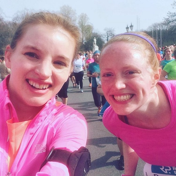 Berlin Half Marathon smiles love running