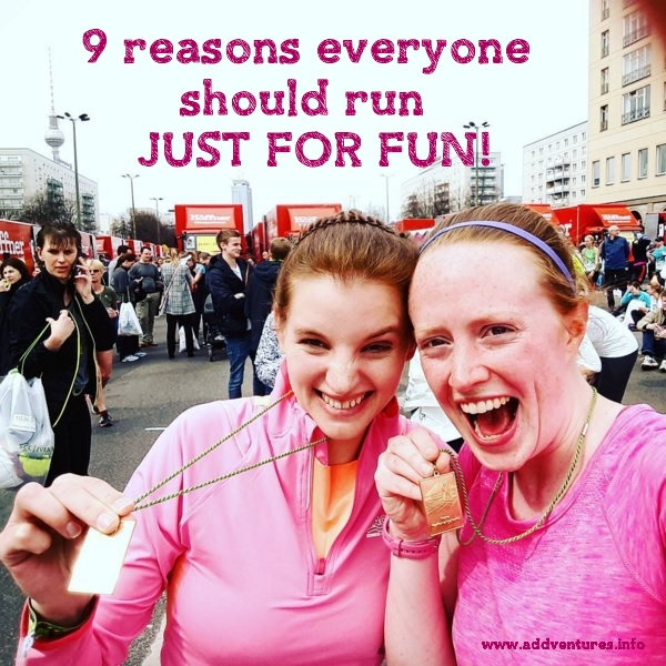 Berlin Half Marathon fun run