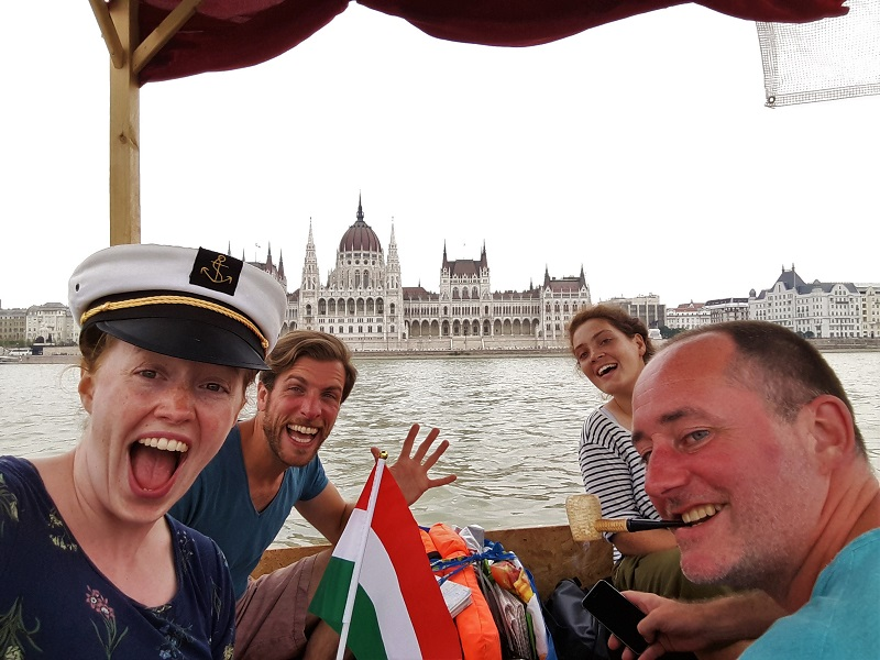 raft parliament budapest danube donau stube adventure