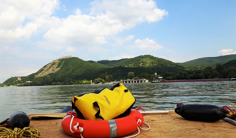 danube knee hungary visegrad raft adventure