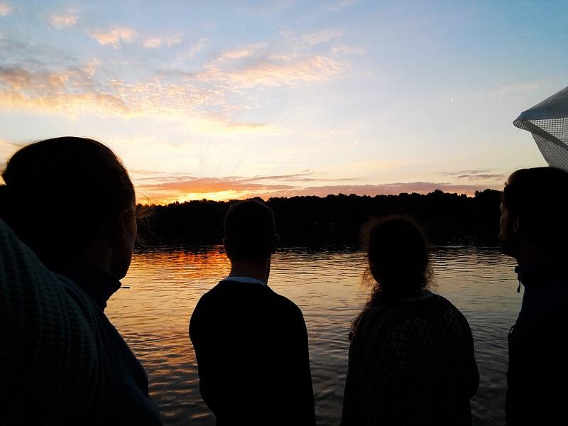 sunrise raft danube hungary adventure