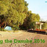 wild camp raft danube